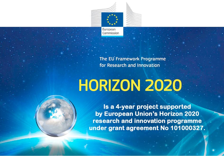 Is a 4-year project supported by European Union's Horizon 2020 research and innovation programme under grant agreement No 101000327.